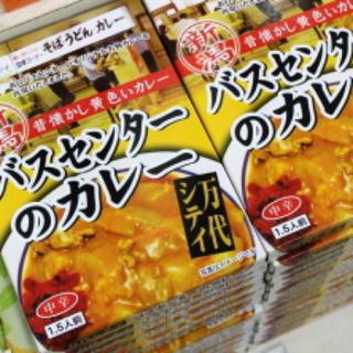 バスセンターのカレー 10個(レトルト食品)