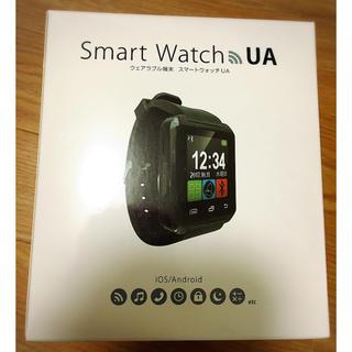 Smart Watch UA 黒 腕時計(腕時計(デジタル))