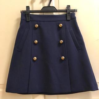 PROPORTION BODY DRESSING - 新品♡プロポーションボディドレッシング スカート ネイビー 台形 マリン 紺色
