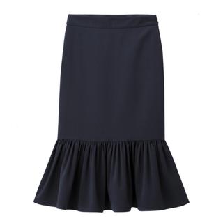 GU - GU ペプラムタイトスカート ネイビー Mサイズ