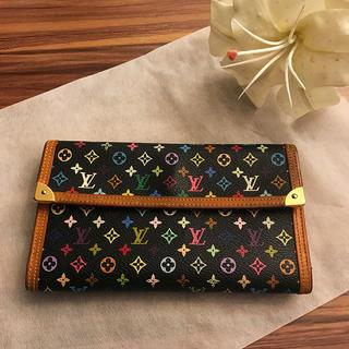 【美品】LOUIS VUITTON♢ポルト トレゾール♢モノグラム♢長財布