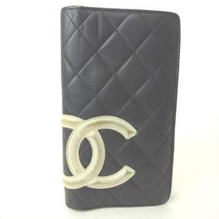 シャネル(CHANEL)のシャネル 長財布 サイフ 折り財布 カンボンライン(財布)