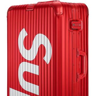 リモワ(RIMOWA)のSupreme × rimowa 82リットル(トラベルバッグ/スーツケース)