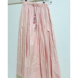 アッシュペーフランス(H.P.FRANCE)のlampharajuku ギャザースカート(ロングスカート)