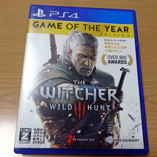【PS4】THE WITCHER3 WILD HUNT【ウィッチャー3】(家庭用ゲームソフト)