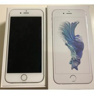 アイフォーン(iPhone)のiphone 6s Silver 16GB 本体 SIMフリー(スマートフォン本体)