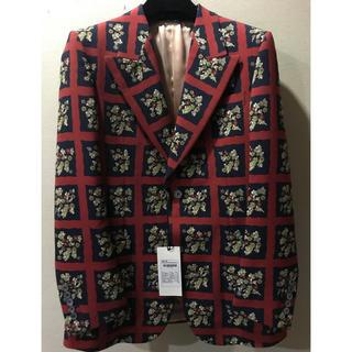 【激レア】GUCCI 16AW flower jacket スネーク 刺繍