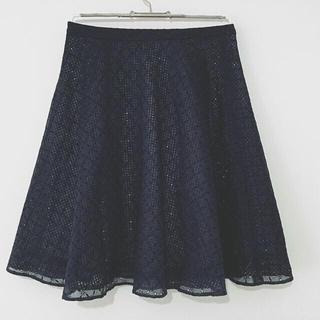 TOCCA - TOCCA トッカ FAIRYスカート サイズ0 ネイビー