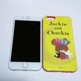 アイフォーン(iPhone)のドコモ iPhone6 シルバー(スマートフォン本体)
