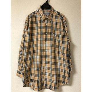 バーバリー(BURBERRY)の【ENGLAND製】Burberrys バーバリー ノヴァチェックシャツ L(シャツ)