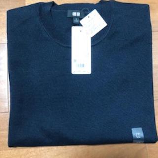 ユニクロ(UNIQLO)のウォッシャブルクルーネックセーター 半袖(ニット/セーター)