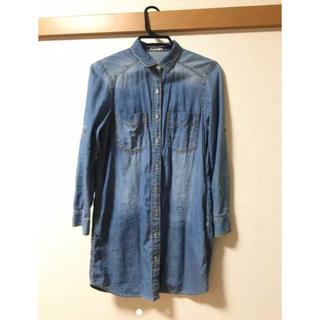 ジーユー(GU)のデニムシャツ ジャケット レディース (Gジャン/デニムジャケット)