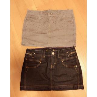 アルマーニエクスチェンジ(ARMANI EXCHANGE)のアルマーニエクスチェンジスカート2枚(ミニスカート)
