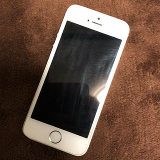アイフォーン(iPhone)のiPhone5s 本体 SoftBank シルバー 32GB(スマートフォン本体)