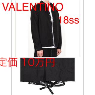ヴァレンティノ(VALENTINO)の☆新品☆ VALENTINO 18SS VLTNロゴ ドローストリング シャツ(シャツ)