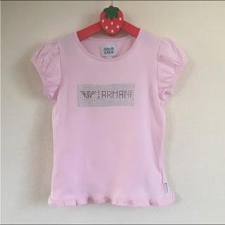 アルマーニ ジュニア(ARMANI JUNIOR)のARMANI JUNIOR Tシャツ 6A(Tシャツ/カットソー)