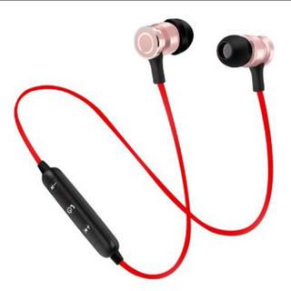 メタルマグネット式BluetoothワイヤレスヘッドセットイヤホンQ3(ヘッドフォン/イヤフォン)