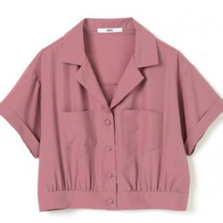GRL テーラードカラーショートシャツ