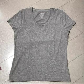 ジーユー(GU)のジーユー 半袖Tシャツ グレー XL 中古(Tシャツ(半袖/袖なし))