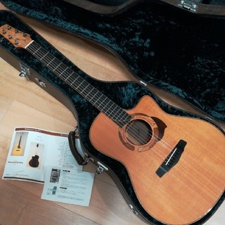 名工 yokoyama guitar AR-SR オーダーOP多数 純正HC(アコースティックギター)