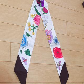 グッチ(Gucci)のGUCCI バッグ用スカーフ(バンダナ/スカーフ)