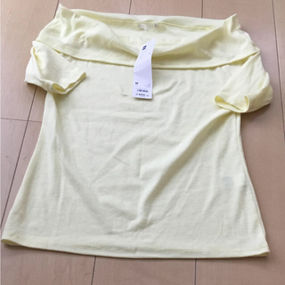 ジーユー(GU)のオフショルダー GU(カットソー(半袖/袖なし))