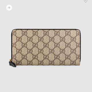 グッチ(Gucci)のGucci グッチ長財布 GGスプリーム キャンバス ジップアラウンドウォレット(長財布)