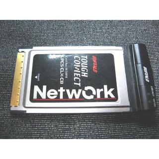 バッファロー(Buffalo)のBuffalo 有線LAN PCカード ジャンク品(PC周辺機器)