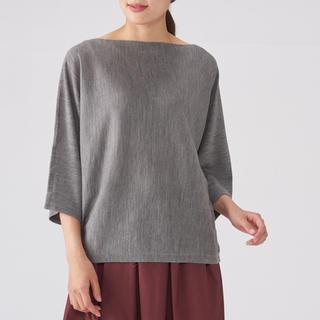 MUJI (無印良品) -  新品  無印良品  ウールシルクドルマンスリーブセーター
