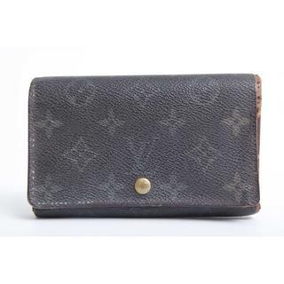 ルイヴィトン(LOUIS VUITTON)の良品 本物 ルイ ヴィトン モノグラム 二つ折り財布 正規品(財布)