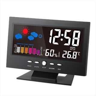 ★★デジタル温度湿度計 LCD温度湿度計(腕時計(アナログ))
