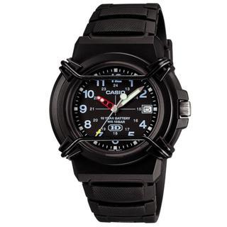 △CASIO 腕時計 10年電池 防水 ブラックG-SHOCK(腕時計(アナログ))