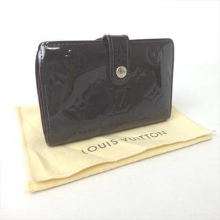 ルイヴィトン(LOUIS VUITTON)のルイヴィトン サイフ 財布 がま口 がま口財布 モノグラム ヴェルニ ヴィトン(財布)