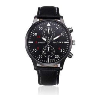 MC089 送料無料♪スマートウォッチ*クオーツ business 黒(腕時計(アナログ))