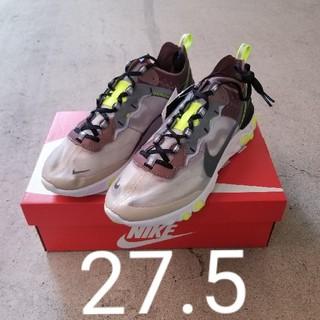 ナイキ(NIKE)の【27.5】Nike React Element 87 Desert Sand(スニーカー)