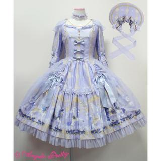 アンジェリックプリティー(Angelic Pretty)のCrystal Dream Carnival OP Set Dress Set(ひざ丈ワンピース)