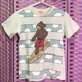 カステルバジャック(CASTELBAJAC)の【中古】キッズ サーフィンTシャツ【カステルバジャック】(Tシャツ/カットソー)
