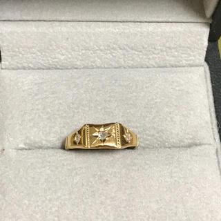 アッシュペーフランス(H.P.FRANCE)のイロンデール K18 ダイヤモンド リング(リング(指輪))
