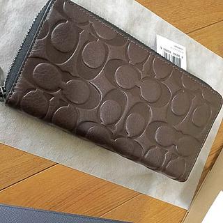 コーチ(COACH)のcoach❤️ラウンドファスナー長財布❤️新品未使用品(財布)