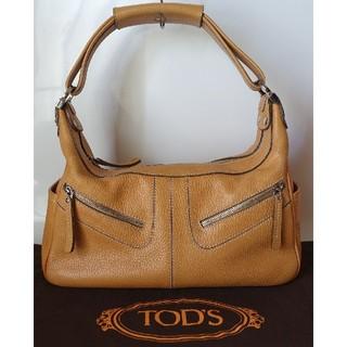 トッズ(TOD'S)の⭐美品⭐トッズオールレザー超お洒落ショルダーバッグ⭐肩掛けイタリア製保存袋付き⭐(ショルダーバッグ)