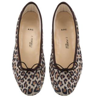 アーペーセー(A.P.C)の【新品】A.P.C × porselli ポルセリ ballet shoes35(バレエシューズ)