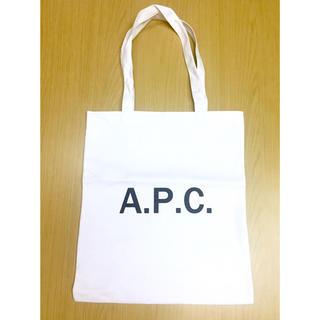 アーペーセー(A.P.C)のA.P.C キャンバス トートバッグ ホワイト(トートバッグ)
