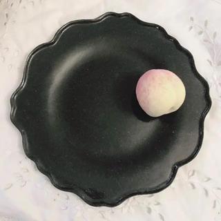 サラグレース(Sarah Grace)のダルティゾン 花リム プレート  スミクロ(食器)