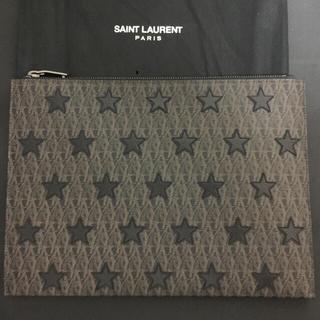 サンローラン(Saint Laurent)の☆正規美品☆ サンローラン スター モノグラム クラッチバッグ(セカンドバッグ/クラッチバッグ)