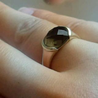 ヨンドシー(4℃)のsale☆4℃ トパーズ シルバーリング(リング(指輪))