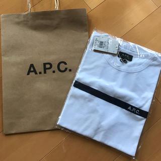 アーペーセー(A.P.C)のA.P.CTシャツ アーペーセーTシャツです。 完売商品 Sサイズ 新品(Tシャツ/カットソー(半袖/袖なし))