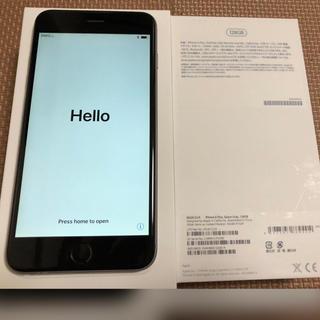アイフォーン(iPhone)のiPhone 6 Plus   docomo スペースグレー 128GB (スマートフォン本体)