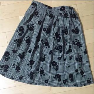 ハニーズ(HONEYS)の新品タグ付き 膝丈スカート(ひざ丈スカート)