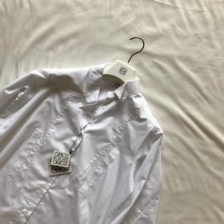 ロエベ(LOEWE)のLOEWE アシンメトリーシャツ S(シャツ)
