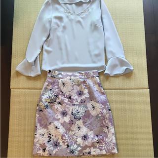 プロポーションボディドレッシング(PROPORTION BODY DRESSING)のプロポーションボディドレッシング スカート セット(ひざ丈スカート)